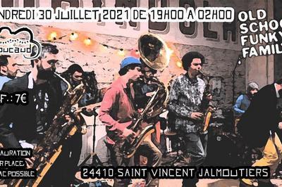 Concert Old School Funky Family à Saint Vincent Jalmoutiers
