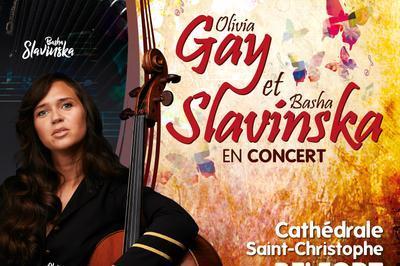 Concert Olivia Gay et Basha Slavinska à Belfort