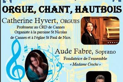 Concert Orgue, chant, Hautbois à Nice
