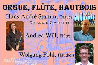 Concert Orgue, Flûte, Hautbois à Nice