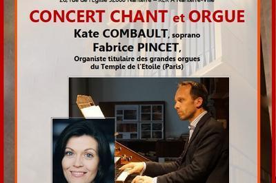 Concert Orgue & Voix à Nanterre