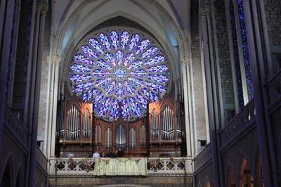 Concert Pédagogique Gratuit Avec Alain Guérinel Au Grand Orgue à Pontmain
