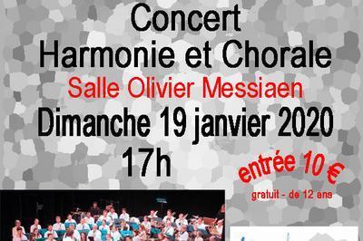 Concert pour Chorale et Harmonie à Grenoble