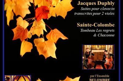 Concert rare : Duo de Violes de Gambes à Paris 9ème