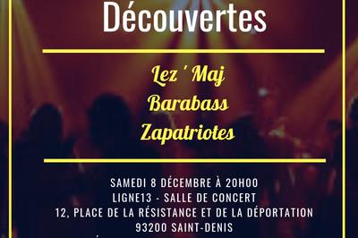 Concert Rock Découvertes! à Saint Denis