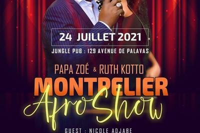 Concert Ruth Kotto & Papa Zoé / Guest Nicole Adjabe / Mix Dj Yannick à Montpellier