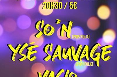Concert // So'n, Ysé Sauvage et Vaslo à Villebon sur Yvette