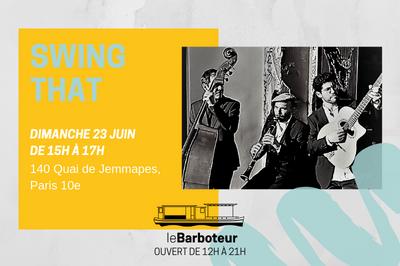 Concert // Swing That Au Barboteur à Paris 10ème
