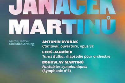 Concert symphonique Dvorák, Janácek, Martinu à Nancy