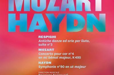Concert Symphonique Respighi, Mozart, Haydn à Nancy