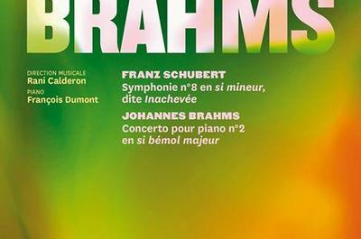 Concert Symphonique Schubert, Brahms à Nancy