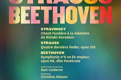 Concert Symphonique Stravinsky, Strauss, Beethoven à Nancy