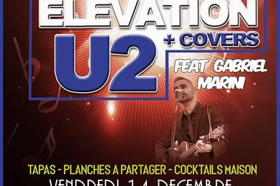 Concert Tribute U2 et Covers feat Gabriel Marini à Lattes