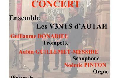 Concert Trompette Saxophone & Orgue à Epinay sur Orge
