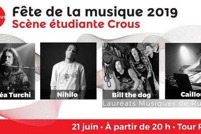 Scène étudiante Crous à Amiens