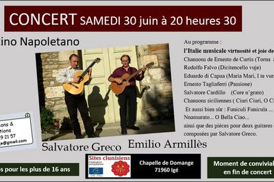 Concertino Napoletano chansons italiennes à Ige