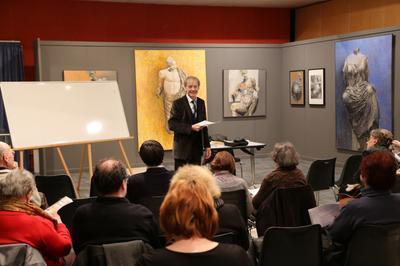 Conférence Art Du Partage Et Partage De L'art à L'auditorium De L'hôtel Du Petit-louvre à Troyes