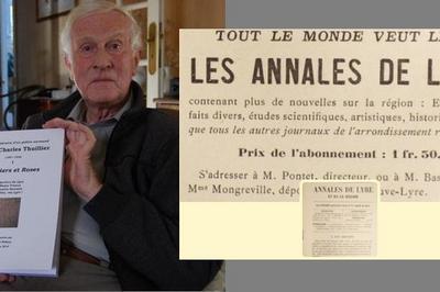 Conférence : Les Annales De Lyre Et De La Région 1904-1927 à Bois Normand Pres Lyre