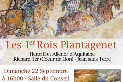 Conférence par Marie-Françoise Adam « les premiers rois Plantagenet » à Aubigny sur Nere