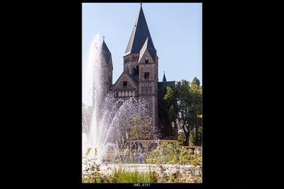 Conférence : Temple Neuf De Metz : Histoire Et Architecture
