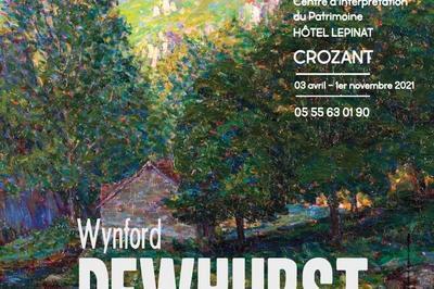 Conférence Wynford Dewhurst, Un Anglais à Crozant