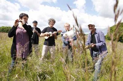 Concert-déambulation pour Tresbes e fèsta d'òc à Trebes