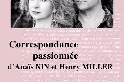 Correspondance Passionnée D'anaïs Nin Et Henry Miller à Marseille