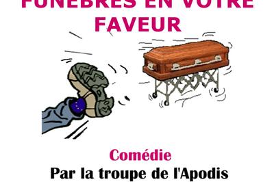 Coup de pompe… funèbre ! par la Troupe de l'Apodis à Montauban