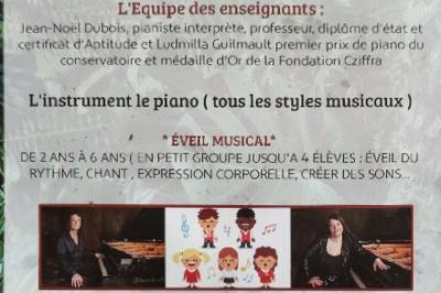 Cours de piano à Paris 8ème