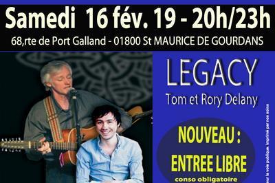 Crep'concert- Musique irlandaise - entrée libre à Saint Maurice de Gourdans