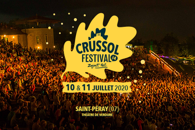 Crussol Festival 2020 - billet journée à Saint Peray du 10