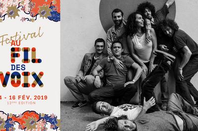 Cumbia Chicharra • Festival Au Fil des Voix à Paris 20ème
