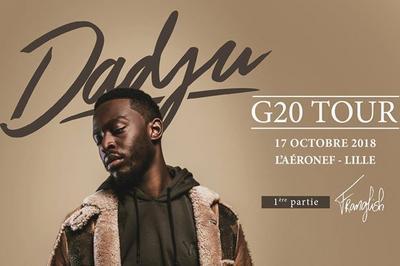 Dadju G20 Tour à Lille