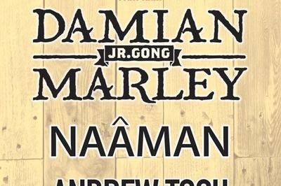 Damian Marley+Naaman Andrew Tosh à Le Golfe Juan