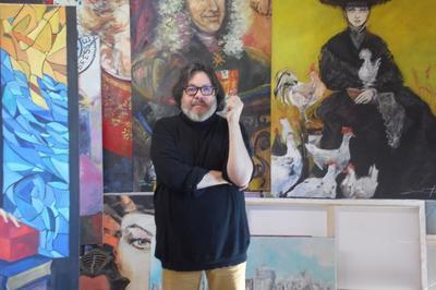 Damian Tirado Présente Son Exposition À L'écomusée à Pierre de Bresse