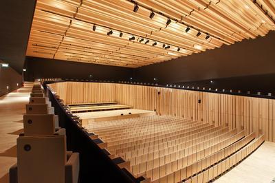 Dans Les Coulisses Du Théâtre-auditorium à Poitiers