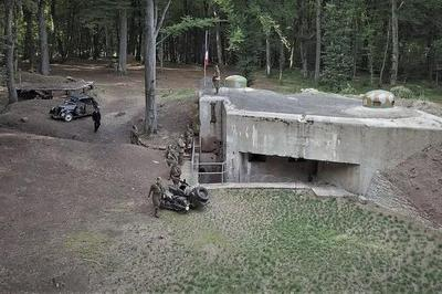 Visite : Dans Les Intervalles De La Ligne Maginot à Chemery les Deux