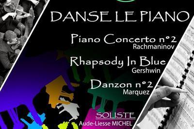Danse  le piano à Morzine