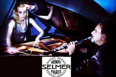 David Krakauer & Kathleen Tagg « Breath & Hammer » à Paris 15ème