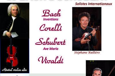 De Bach à Schubert à Versailles