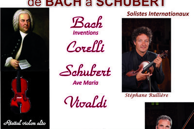 De Bach à Schubert à Sucy en Brie