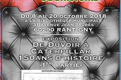 De Duvoir à Caterpillar  150 ans d'Histoire  1ère Partie à Rantigny