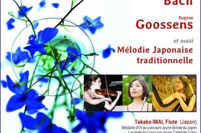 Debussy , Bach... et mélodies Japonaises Traditionnelles à Paris 8ème