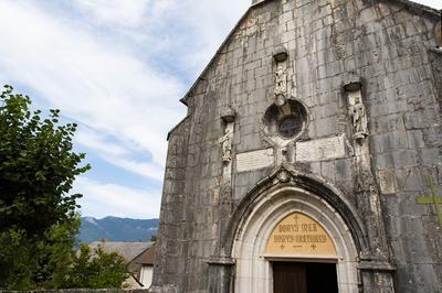 Découverte De L'église Et Du Village De Flaxieu