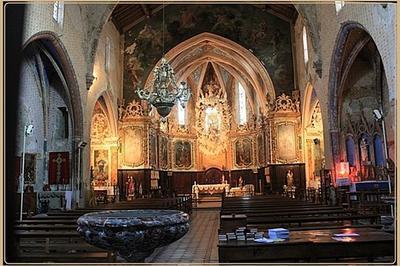 Découverte De L'église Paroissiale à Fanjeaux