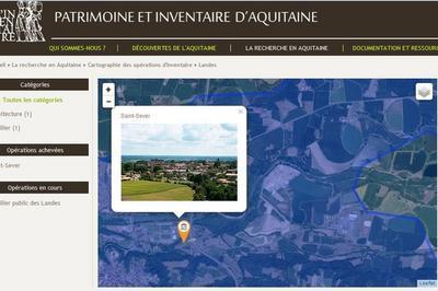 Découverte De La Base De Données De L'inventaire Patrimonial De Saint-sever à Saint Sever