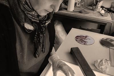 Découverte Du Vitrail Avec Anne Veyrier Du Muraud, Peintre Verrier à Troyes