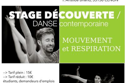 Découverte en danse contemporaine à Cenon