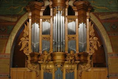 Découverte Participative De L'orgue à L'église Notre-dame à Boulogne Billancourt