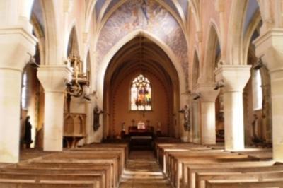 Découvrez L'église St André à La Chapelle saint Andre